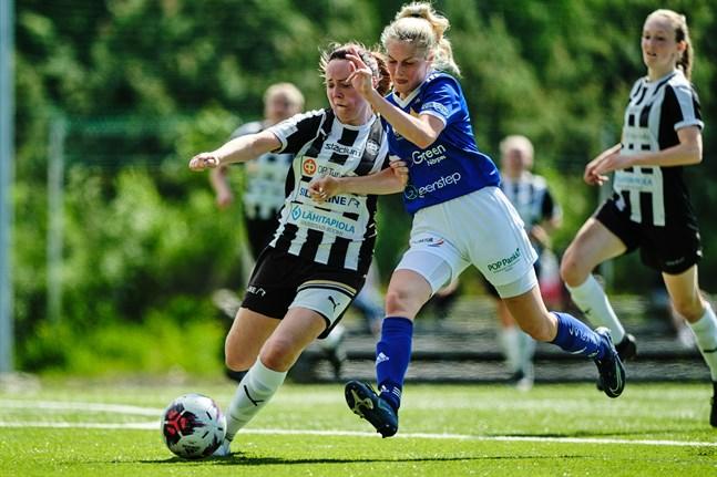 Emelie Sax och Vasa IFK fick nöja sig med oavgjort borta mot TKT i Tammerfors.
