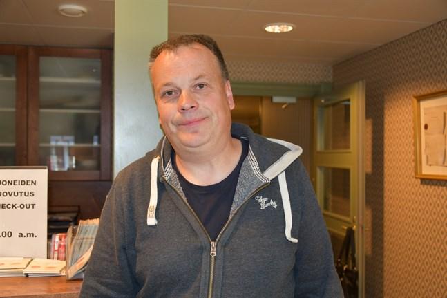 Petri Pihlajaniemi (Saml) är en av 12 invalda som bor i kärnstaden. Han samlade mest röster av alla, 228, varav 151 i Kristinestads röstningsområde.