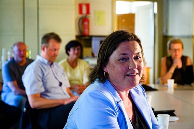 Marika Hagnäs kommer att fungera som ordförande för Kronobys kommunfullmäktige under den kommande mandatperioden.