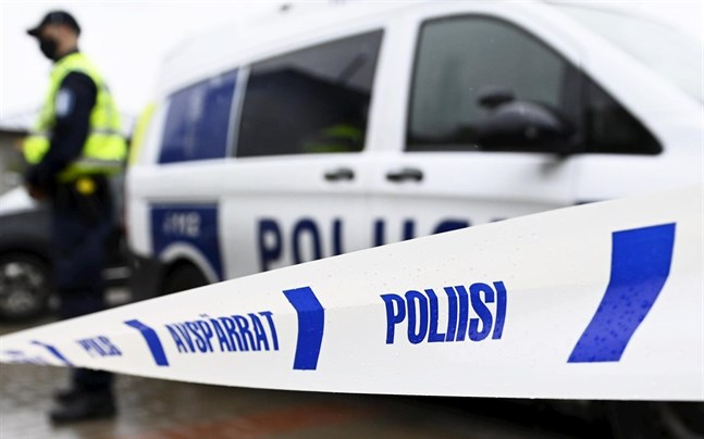 Polisen ryckte ut till stadsdelen Nummisbacken i Åbo på söndagen.