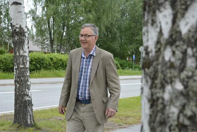 Hans-Erik Lindqvist samlade flest röster i Närpes. Han är redo att ställa sig till förfogande för olika förtroendeuppdrag.