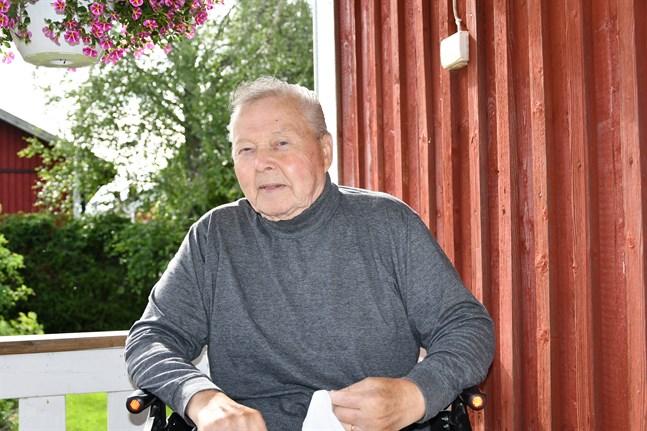 Hans Ingvesgård är ny ordförande för äldrerådet i Kristinestad.