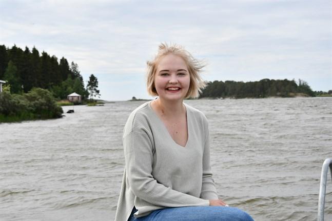 Ida-Helena Patoranta (SFP) blir yngst i det nya Kristinestadsfullmäktige med sina 23 år.