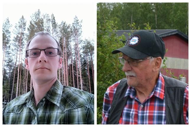 Tommy Bäckman och Leif Holmblad har fört in SDP i Korsnäs fullmäktige igen. Ingen av dem är inskriven i partiet.