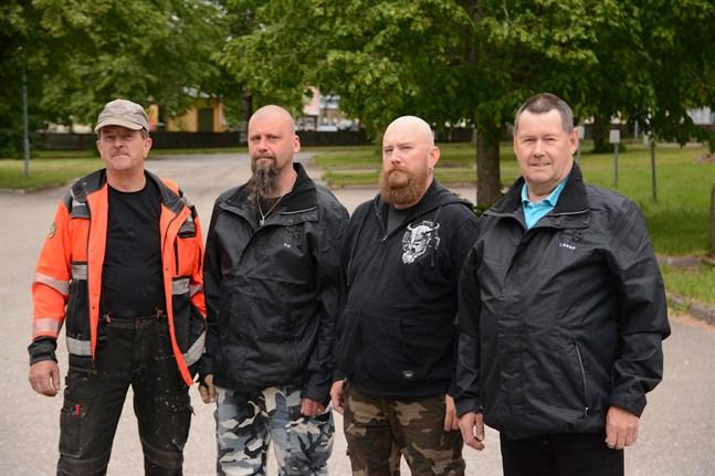 Sannfinländarna i Kaskö fördubblade sina platser i stadsfullmäktige och fick in kvartetten Jarmo Tarkka, Kai Ylikoski, Jukka Salo och Lasse Lähdesluoma.