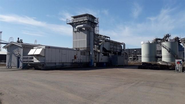 Reservkraftverket på Vasklot.