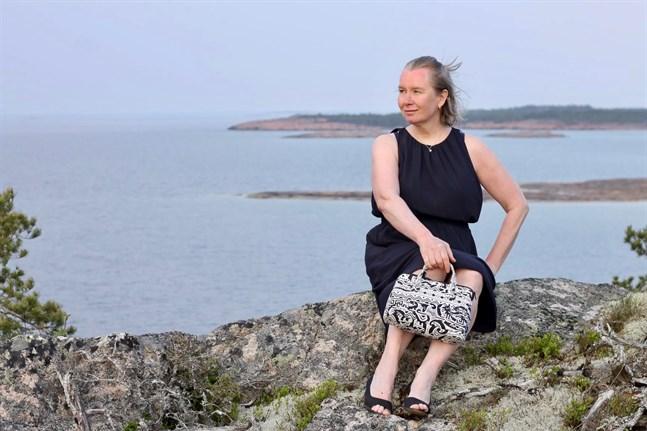 Kristina ketteunen inspireras av naturen och sitt österbottniska arv.