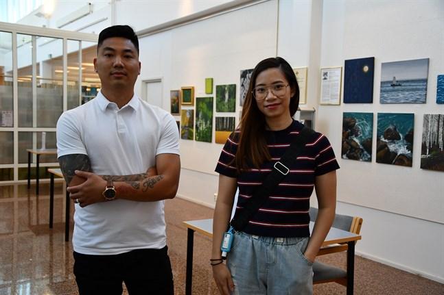 Anh Nguyen Nhu och Ly Le Huyen är de första med vietnamisk bakgrund att ta plats i Närpesfullmäktige.