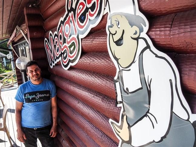 Krögaren Bassem Othman har flyttar från Äänekoski till Karleby. Maggie's Café & Restaurant blir hans andra restaurang. På fredag öppnar Maggies på nytt.