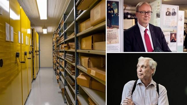 Riksarkivet och Vasa stad har planer på att slå ihop sina arkiv, men det skulle innebära att 11 000 hyllmeter material skulle flyttas bort. Den här tanken gillas inte av alla.