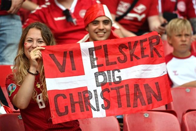 Christian Eriksen tackar för allt stöd som han fått.
