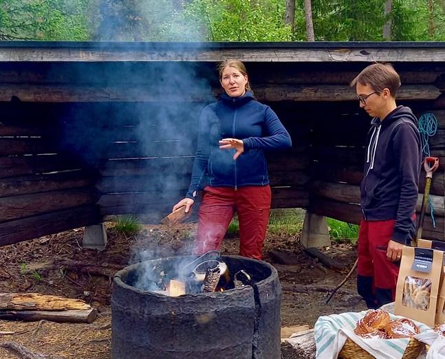 Sara Kåll-Fröjdö och Maria Hofman-Bergholm säger att intervjuerna med naturföretagarna var det som inspirerade dem mest när de skrev guiden.