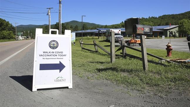 I Vermont i USA har 84 procent av befolkningen fått minst en första spruta, och delstaten är därmed bäst i landet.