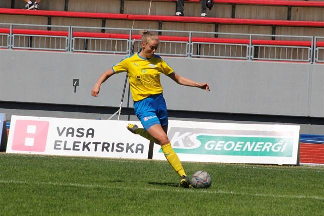 Wilma Lassfolk öppnade Krafts målkonto för säsongen. Men det blev en ny förlust för laget.