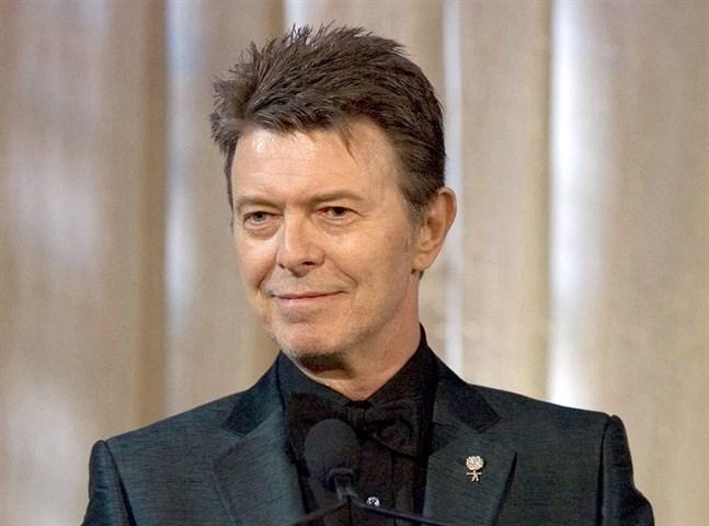 En tavla som av allt att döma är målad av artisten David Bowie har hittats av en slump och ska nu auktioneras ut. Arkivbild.