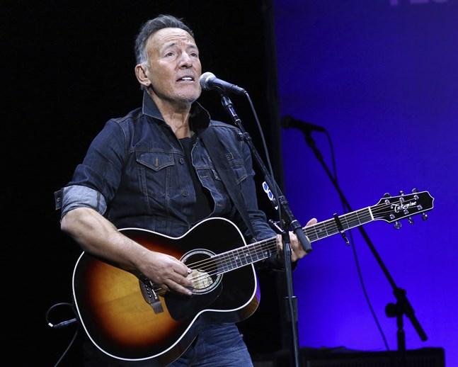 Bruce Springsteen är tillbaka med sin hyllade soloföreställning på Broadway. Arkivbild.