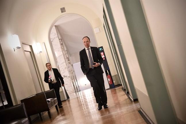 Sannfinländarnas partiordförande Jussi Halla-aho vill inte fortsätta som partiledare.