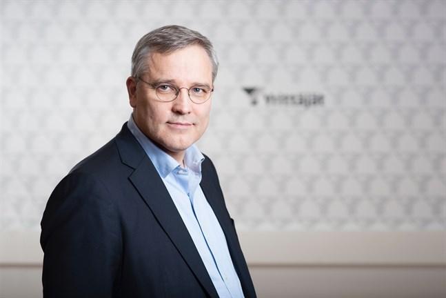 Mikael Pentikäinen, vd vid Företagarna i Finland, efterlyser mentalt stöd utöver ekonomiskt stöd till företagarna.