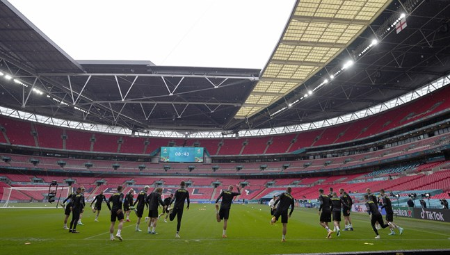 Wembley är den tilltänkta semifinal- och finalarenan.