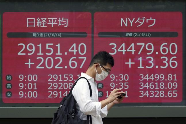 Tokyobörsen gick uppåt, men med små rörelser, under onsdagsmorgonen. Arkivbild.