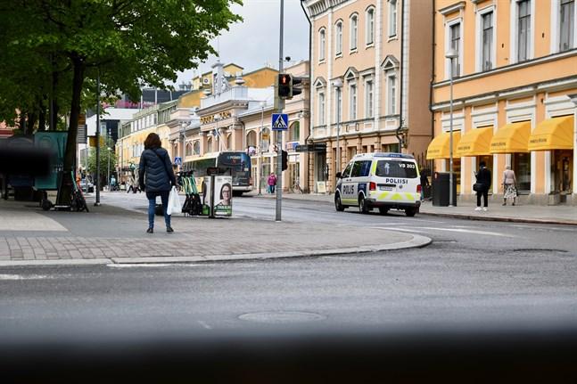 Den 20-åriga man som försvann i Åbo i lördags har hittats död.