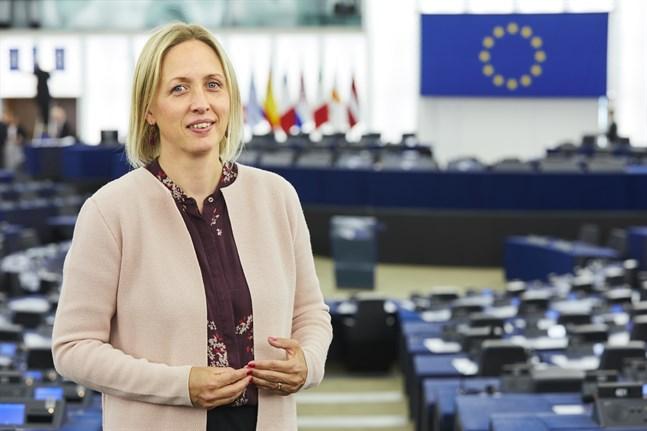 Svenska ledamoten Jytte Guteland (S) har ansvarat för EU-parlamentets behandling av EU:s klimatlag, som nu formellt godkänts. Arkivfoto.