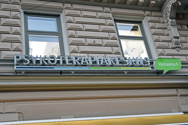 Polisen fick kännedom om ett omfattande dataintrång vid psykoterapicentret Vastaamo i höstas. Arkivbild.