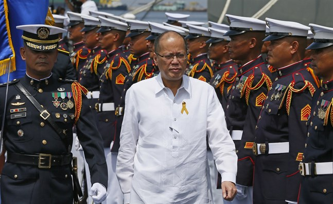 Filippinernas förre president Benigno Aquino III, här på en bild från 2016.
