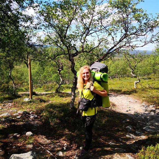 Att vara ute i naturen är Jenny Sumelius svar på vad som utgör en bra dag.