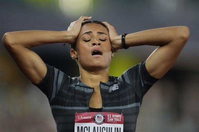Sydney McLaughlin kunde knappt tro att hennes rekordlopp i Eugene var sant.