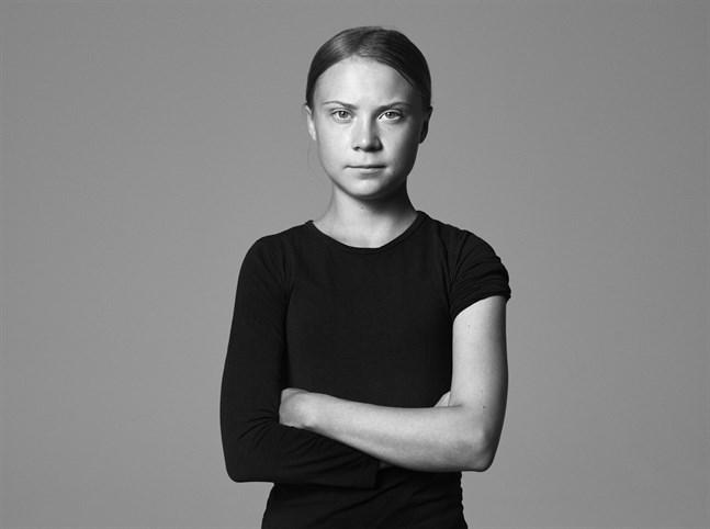 Greta Thunberg kavlar upp – den 18-åriga klimataktivisten vill att unga ska förstå vilket ansvar de har att vaccinera sig. Bilden är beskuren.