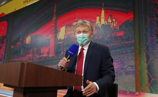 Talesman Dmitrij Peskov.