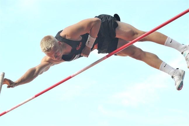 Albin Lundberg klarade 490 i tisdagens Olympiaranking-tävling.