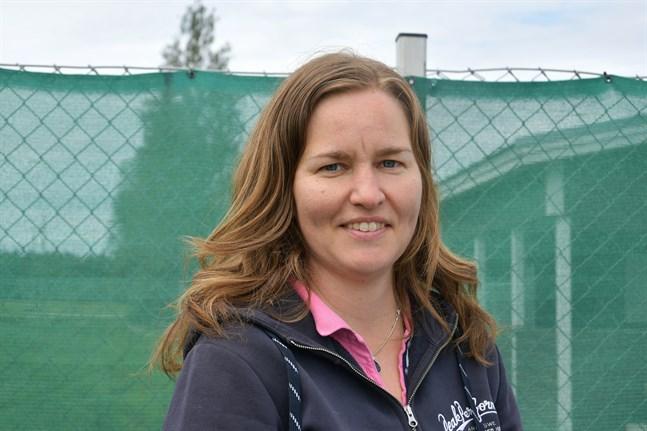 Sandra Sved, simombud vid Folkhälsan i Pörtom säger att intresset för simskolan i Pörtom brukar vara ganska jämnt från år till år.