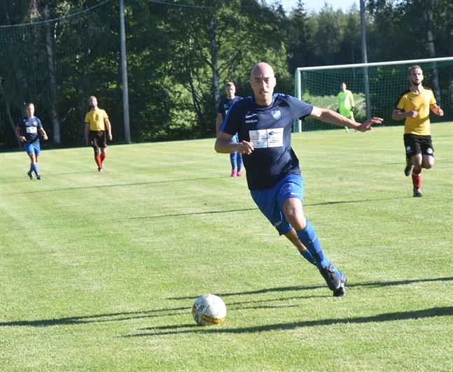 André Forsén, tvåmålsskytt när Esse IK slog Jaro/U23.