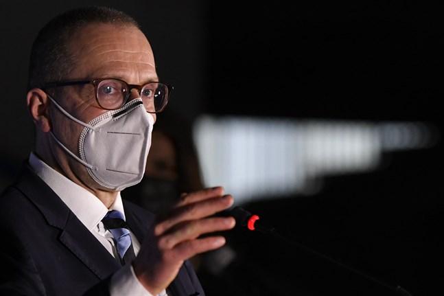 Världshälsoorganisationens Europachef Hans Kluge. Arkivbild.