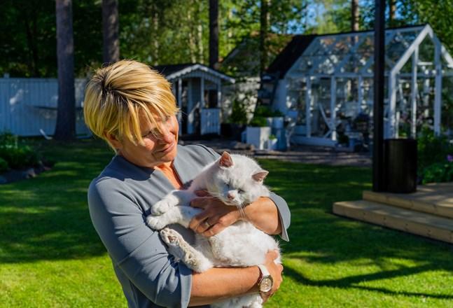 Nina Cederbergs trädgårdsintresse har vuxit med åren.