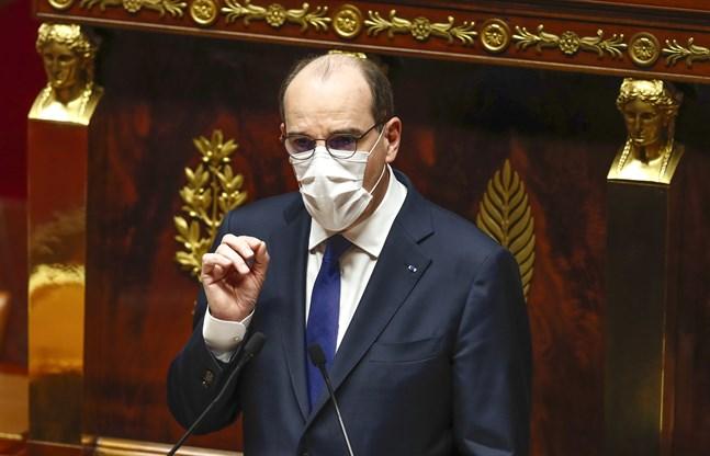 Frankrikes premiärminister Jean Castex.