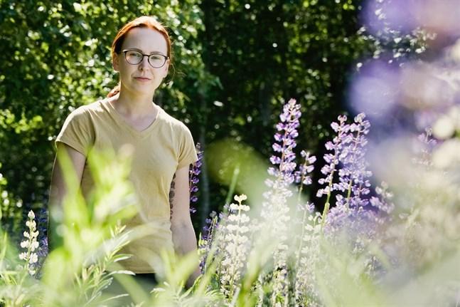Hennes magisteravhandling ska hon skriva om invasiva arter.