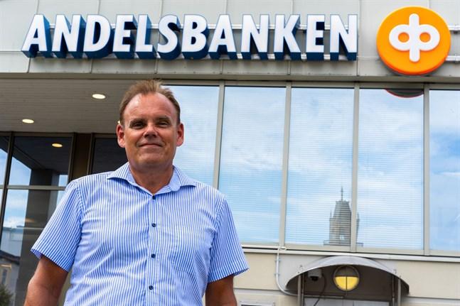 Merparten av de bostadslån som finansieras i Larsmo och Pedersöre är för egnahemshus, säger Stefan Granberg.