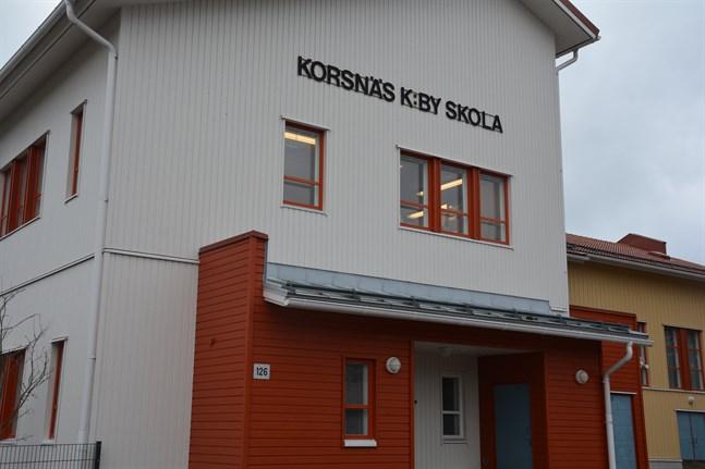 Enligt Roger Bergströms förslag för framtiden skulle Korsnäs kyrkoby skola vara centralskola i kommunen.