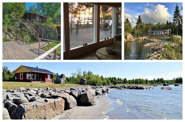 Den billigaste kostar 195 000 euro, den dyraste 359 000. Vi har listat de tio dyraste sommarstugorna just nu i Vasa, Korsholm, Vörå, Malax och Korsnäs.