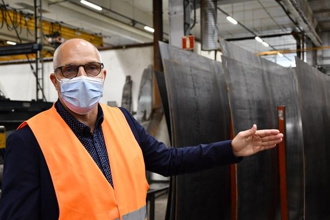 NTM har vuxit ur sina lokaler i Tyskland och bygger därför en ny hall på 3000 kvadratmeter i tyska Ahlhorn, berättar koncernchef Niclas Pada.