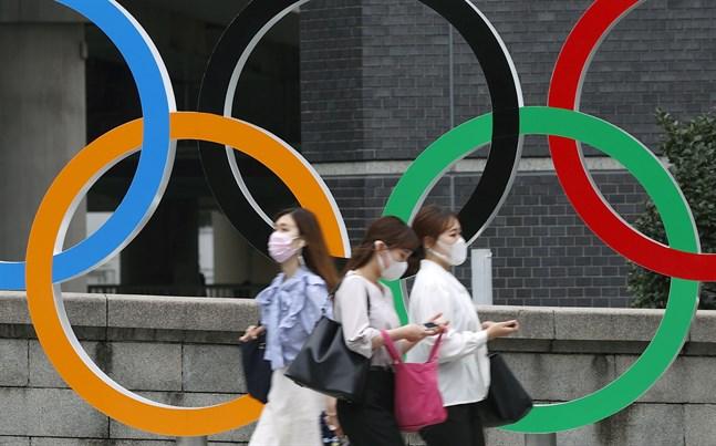 Troligtvis minskar man antalet tillåtna åskådare under Tokyo-OS. Arkivbild.