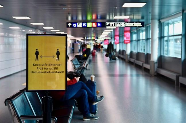 Den 26 juli avvecklas begränsningarna för resor till Finland när det gäller EU och Schengenområdet, men fram till dess omfattas flera länder av reserestriktionerna. Arkivbild.