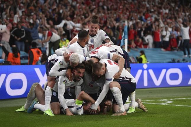 England spelar EM-final på söndag efter Harry Kanes avgörande.