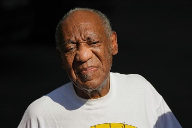 Bill Cosby släpptes från fängelset den 30 juni efter att Pennsylvanias högsta domstol upphävt hans sexbrottsdom. Arkivbild.