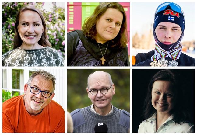 De nominerade till Årets österbottning är Lee Esselström, Catarina Mikkonen, Alexander Ståhlberg, Hans Kreutzer, Heikki Kaukoranta och Ann-Luise Bertell.