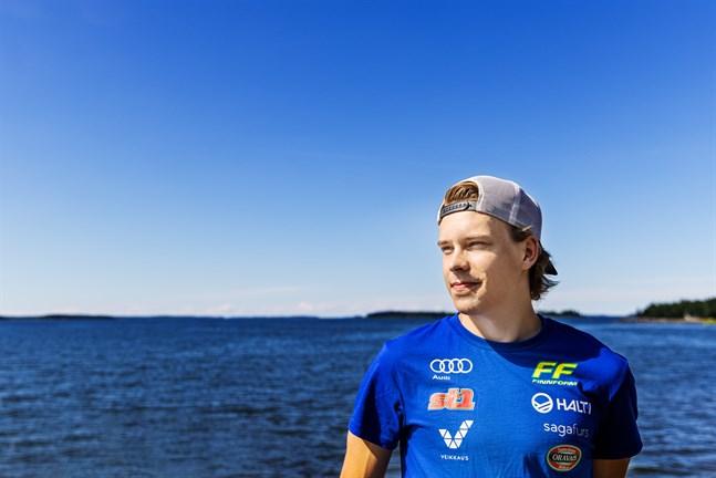 Alexander Ståhlberg är nominerad till Årets österbottning för sina prestationer i skidspåret.