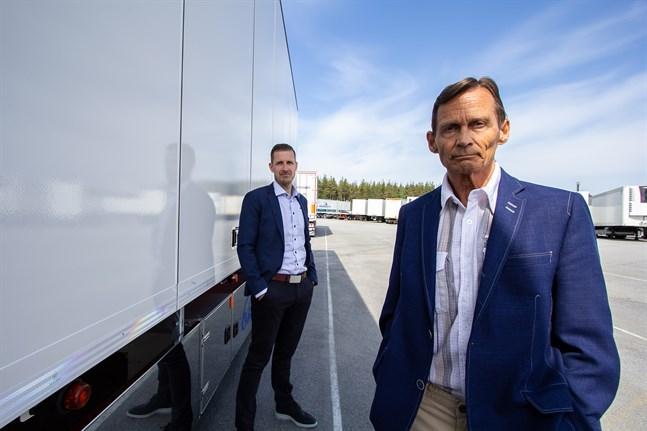 Henrik Höglund och Matti Laurila leder Ekeri som styrelseordförande respektive verkställande direktör.